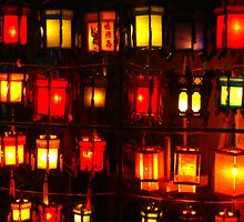 Lantern Lights by Kiwikels