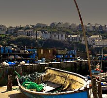 Mevagissey Harbour by Photoplex