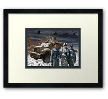 Operation Enduring Freedom - Joint Task Force Geronimo Framed Print
