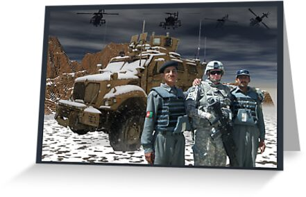Operation Enduring Freedom - Joint Task Force Geronimo by Sazzart
