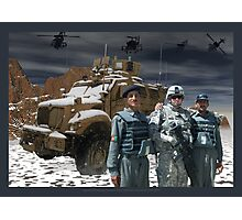 Operation Enduring Freedom - Joint Task Force Geronimo Photographic Print