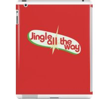 Jingle all the way christmas iPad Case/Skin
