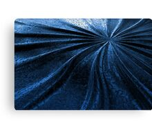 Cold Metal Abstraction Canvas Print