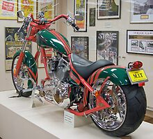 OCC motorcycle in South Sydney colours, Nymboida, NSW, Australia by Adrian Paul