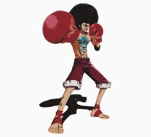 Afro Monkey D. Luffy Kids Clothes