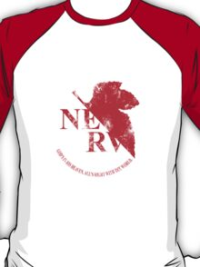 Grunged NERV T-Shirt