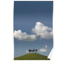 Hill and Sky Poster