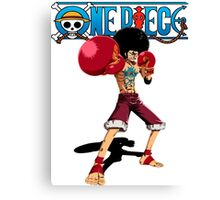 Afro Monkey D. Luffy Canvas Print