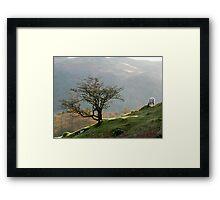 Towards Loughrigg Framed Print