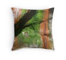 Sedement and Seaweed composition! Throw Pillow
