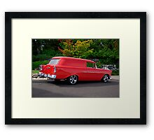 1956 Chevrolet Sedan Delivery VI Framed Print