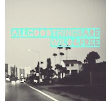 All Good Things Photographic Print