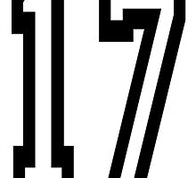 TEAM SPORTS, NUMBER 17, SEVENTEEN, 17, SEVENTEENTH, ONE, SEVEN,Competition,  by TOM HILL - Designer