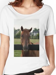 Commentator - Old Friend's Equine Women's Relaxed Fit T-Shirt
