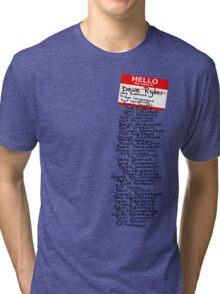 Have You Signed Sherri's Birthday Card? Tri-blend T-Shirt