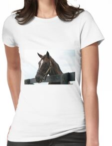 Sunshine Forever RIP - Old Friend's Equine  Womens Fitted T-Shirt