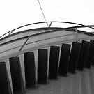 metal cistern's stairs  by fabio piretti