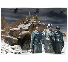Operation Enduring Freedom - Joint Task Force Geronimo unmat Poster