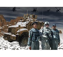 Operation Enduring Freedom - Joint Task Force Geronimo unmat Photographic Print