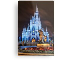 Cinderella Castle Dream Lights Metal Print