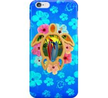 Honu Surfboard Sunset iPhone Case/Skin