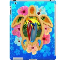 Honu Surfboard Sunset iPad Case/Skin