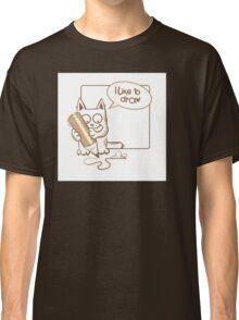i like to draw. Classic T-Shirt