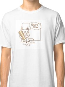 i like to draw. Classic T-Shirt