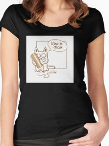 i like to draw. Women's Fitted Scoop T-Shirt