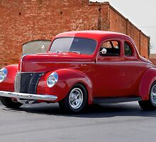 1940 Ford Deluxe Coupe I by DaveKoontz