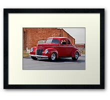 1940 Ford Deluxe Coupe I Framed Print