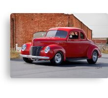 1940 Ford Deluxe Coupe I Canvas Print