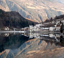 Miralago - Switzerland by Arie Koene