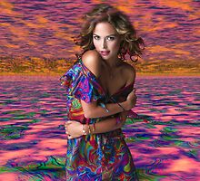 Paisley Lit My Fire 2 by Sazzart