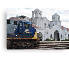 Train Station Orlando Canvas Print