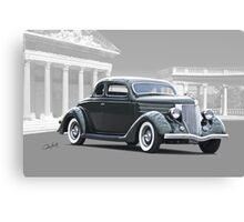 1936 Ford Deluxe Coupe II Canvas Print
