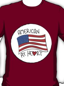 American At He♥rt T-Shirt