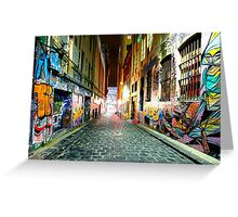 Street Gallery Greeting Card