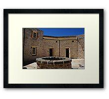 The Round House Framed Print