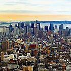 Manhatten, New York City by Stephen Burke