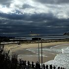 June Storm - Nobbys, Newcastle by Emma Griffen