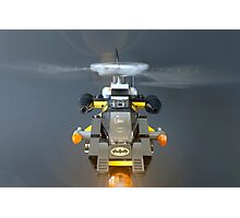 Batcopter Photographic Print