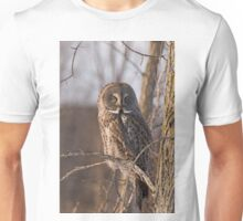Great Grey Owl, Ottawa, Ontario Unisex T-Shirt