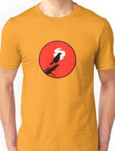 The Crow (red sky) Unisex T-Shirt
