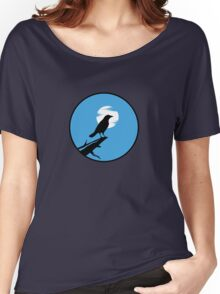 The Crow (blue sky) Women's Relaxed Fit T-Shirt