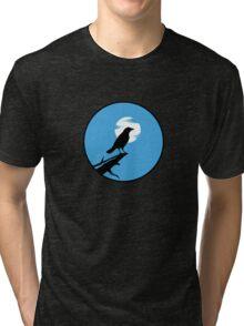 The Crow (blue sky) Tri-blend T-Shirt