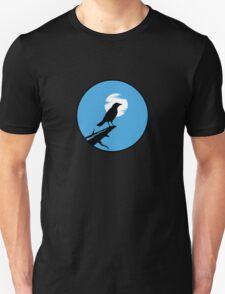 The Crow (blue sky) Unisex T-Shirt