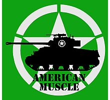 American Muscle WW2 Photographic Print