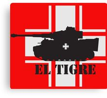 El Tigre WW2 Canvas Print