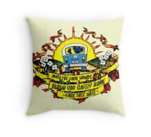 May The Four Winds Blow You Safely Home - Fare Thee Well Throw Pillow